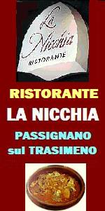 www.ilmiositoweb.it/ristorantelanicchia   ristorante LA NICCHIA a Passignano sul Trasimeno (Perugia) specialità PESCE di mare e di lago - I MIGLIORI RISTORANTI DEL LAGO TRASIMENO