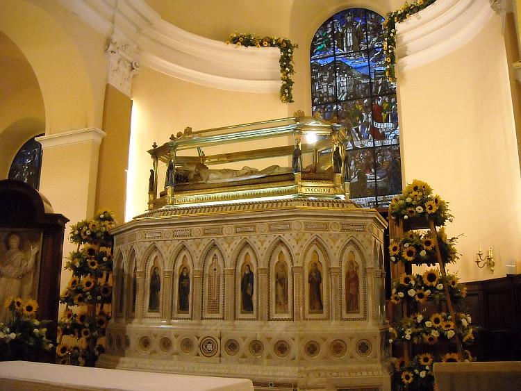 Basilica urna con S. Ubaldo