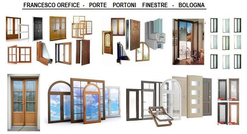 Serramenti porte blindate tapparelle lavorazioni in - Porte finestre bologna ...