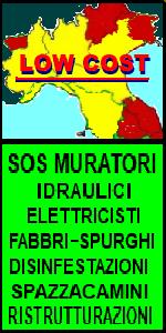 www.ilmiositoweb.it/sos/muratori   SOS PRONTO INTERVENTO 24H in NORD ITALIA, MURATORE, FABBRO, IDRAULICO, SPURGHI, ELETTRICISTA, FALEGNAME,  costruzione piscine,  Ristrutturazione ECONOMICA di appartamenti, bagni, pavimenti, infissi, porte e finestre, impianto elettrico, DISINFESTAZIONI IN PIEMONTE, LIGURIA, LOMBARDIA, VENETO, EMILIA-ROMAGNA, TOSCANA
